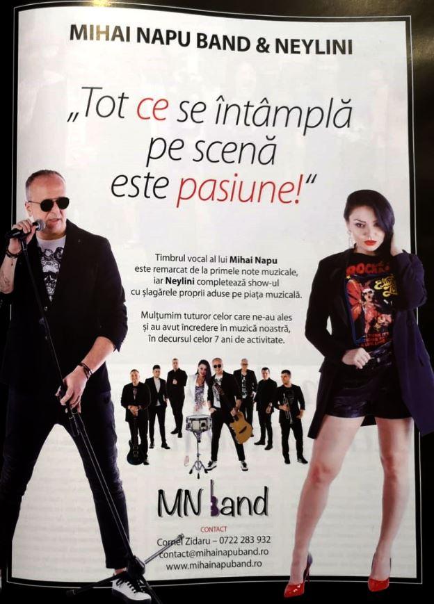 Formatie Nunta Bucuresti - Mihai Napu Band